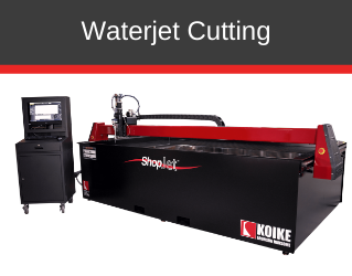 Waterjet Cutting Machines Manufactured by Koike Aronson