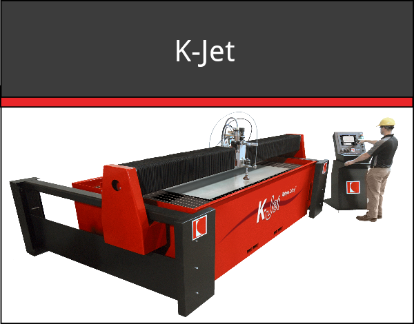 K-Jet waterjet cutting machine system