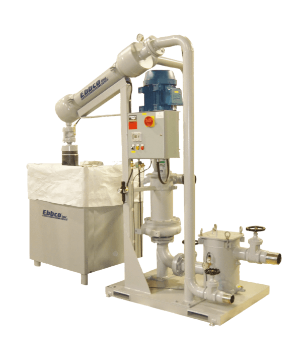 Abrasive Removal System for K-Jet Waterjet Cutting Machine