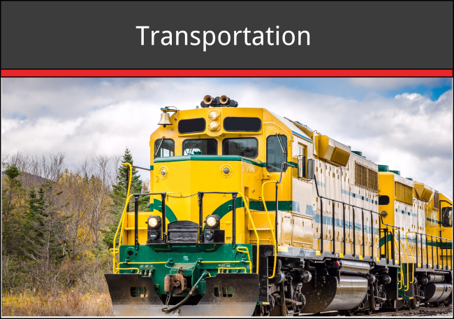 railcars, barges, heavy, trucks, automobiles, ships, aerospace, locomotive, train, bridges