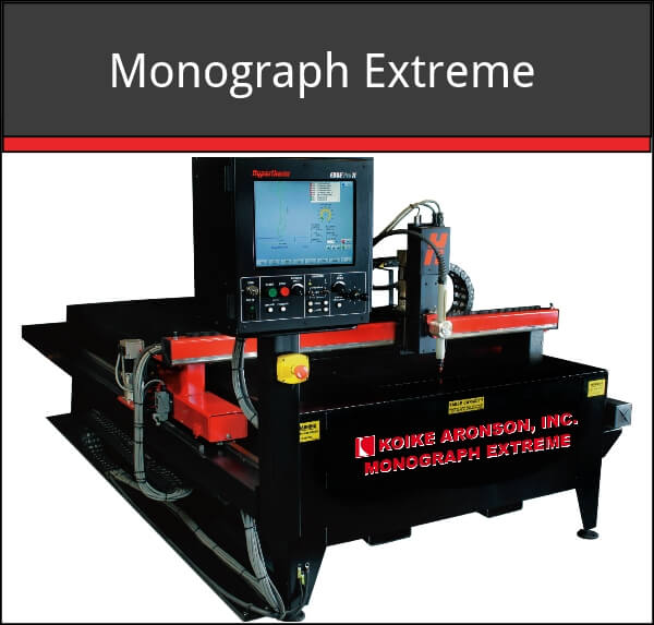 Monograph Extreme plasma cutting machine