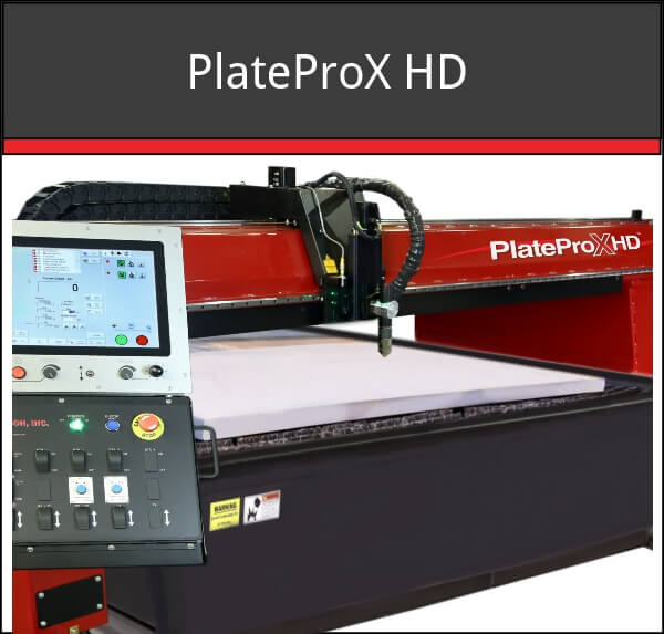 PlateProXHD new cnc cutting machine