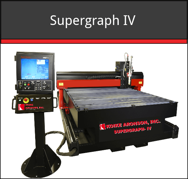 Supergraph IV Unitized CNC Plasma Cutting Machine
