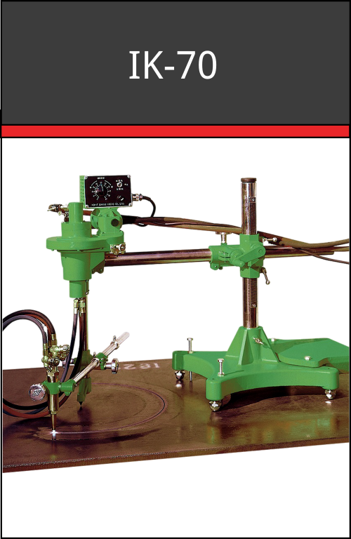 IK-70 oxy-fuel circle cutting machine