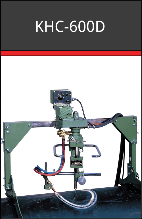 KHC-600D hole pipe cutter