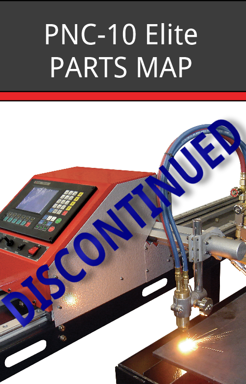 PNC-10 Elite Parts Map- Discontinued