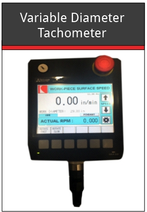 Variable Diameter Tachometer