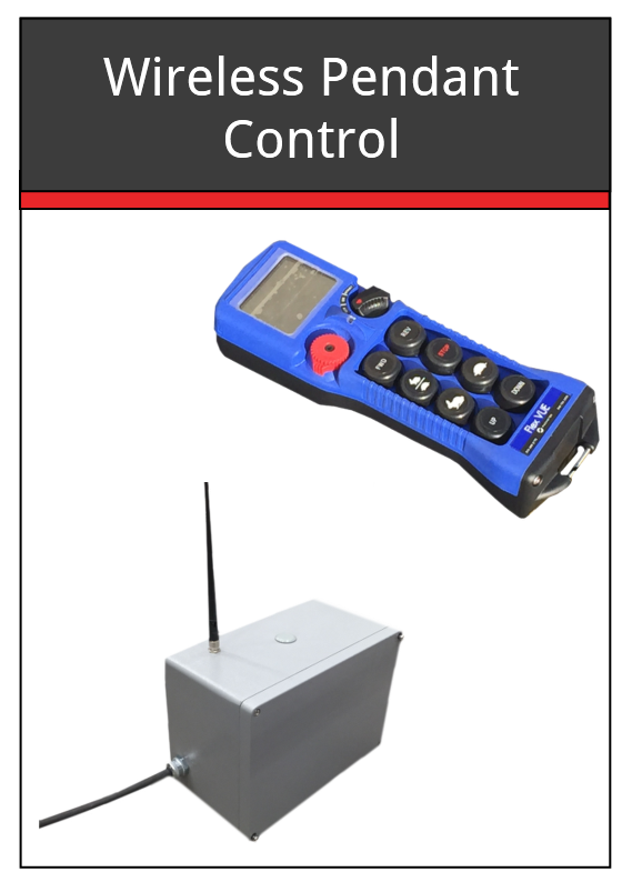 Wireless Pendant Control