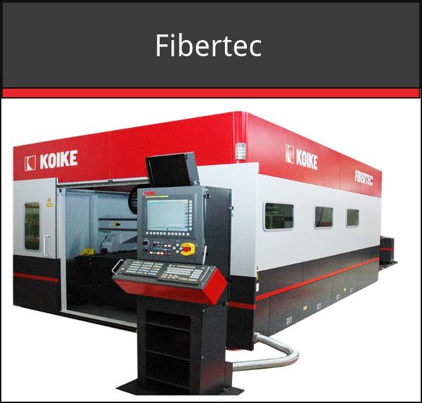 Fibertec Fiber Laser Metal Cutting Machine