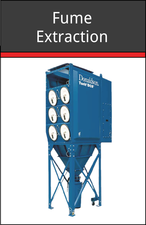 Fume Extraction Unit to collect exhaust fumes produced by your Koike Aronson cutting machine