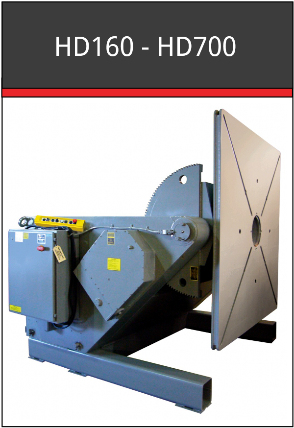 HD160-HD700 Welding Positioners