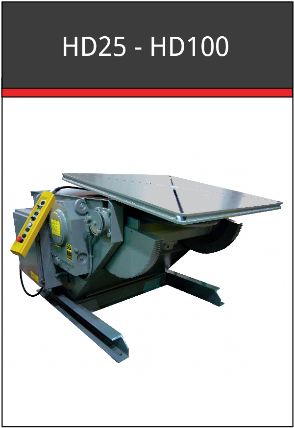 HD25-HD100 Welding Positioner