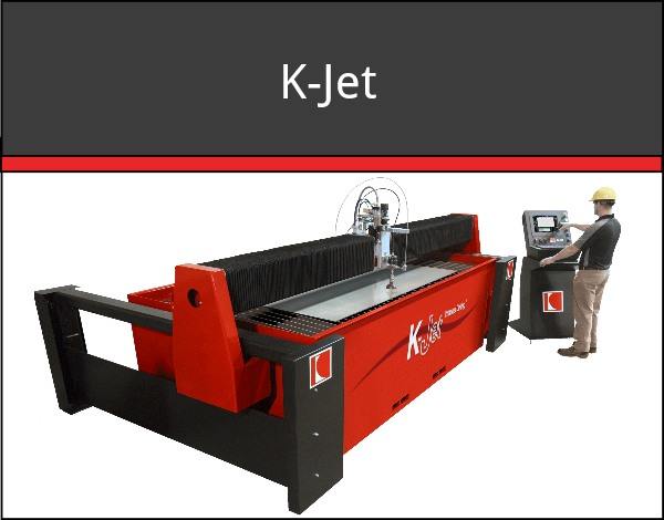K-Jet Waterjet Cutting Machine