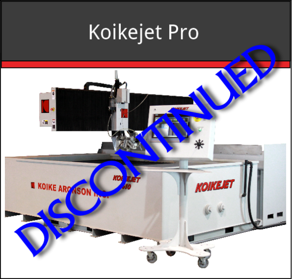 Koikejet Pro has been replaced by K-JET