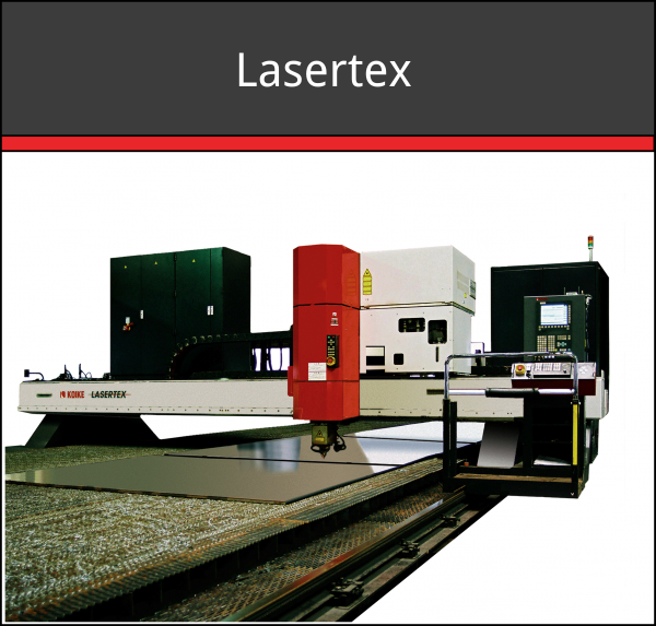 Lasertex CO2 Laser Cutting Machine