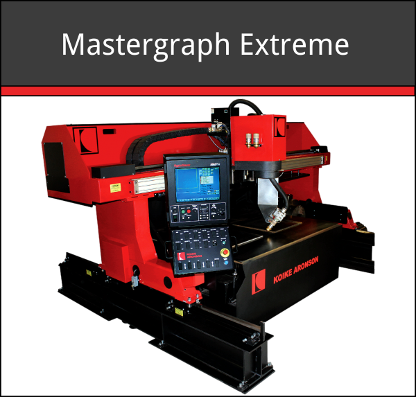 Mastergraph Extreme Metal Cutting Machine