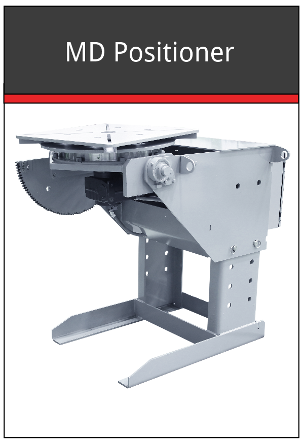 MD tilt turn welding positioners