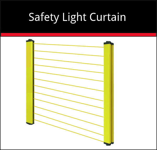 Safety Light Curtain - Cutting machine system addon