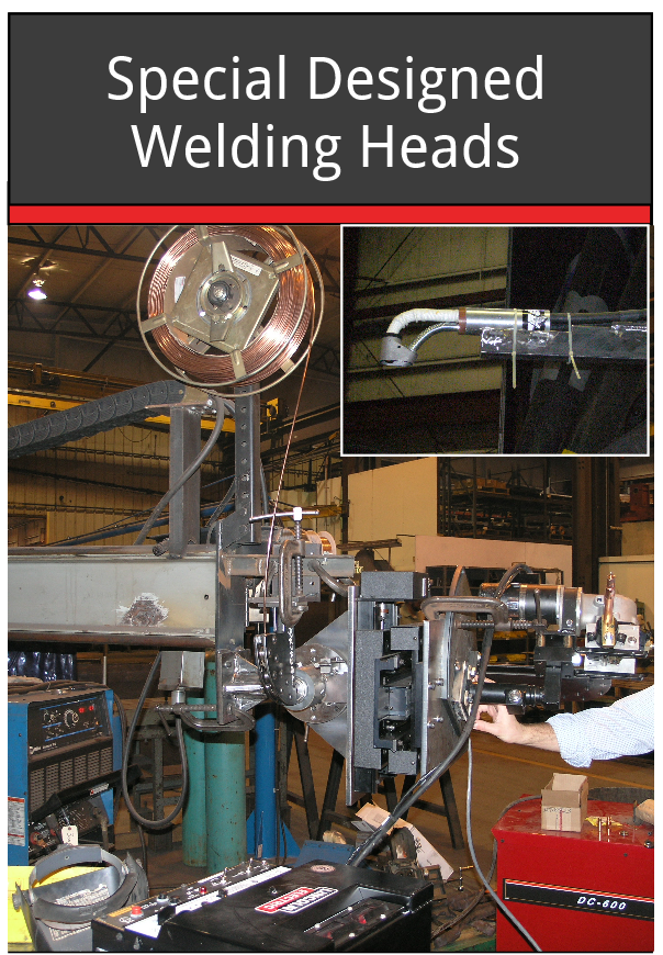 Special Designed Welding Heads