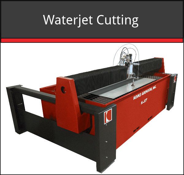 Waterjet Cutting Machine | Cuts Through All Types of Material