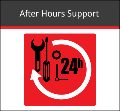 After Hours Support