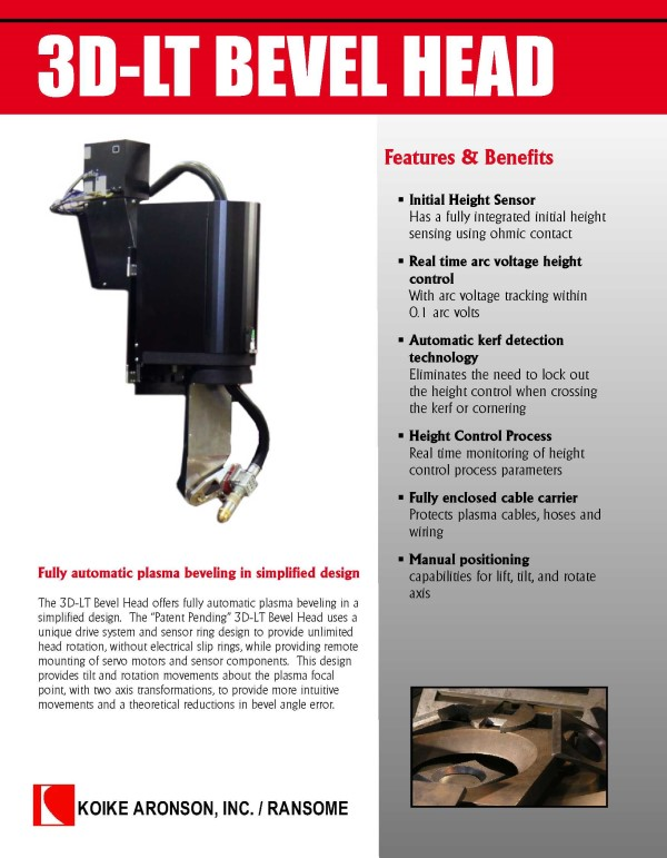 Download the 3D-LT Bevel Head product brochure