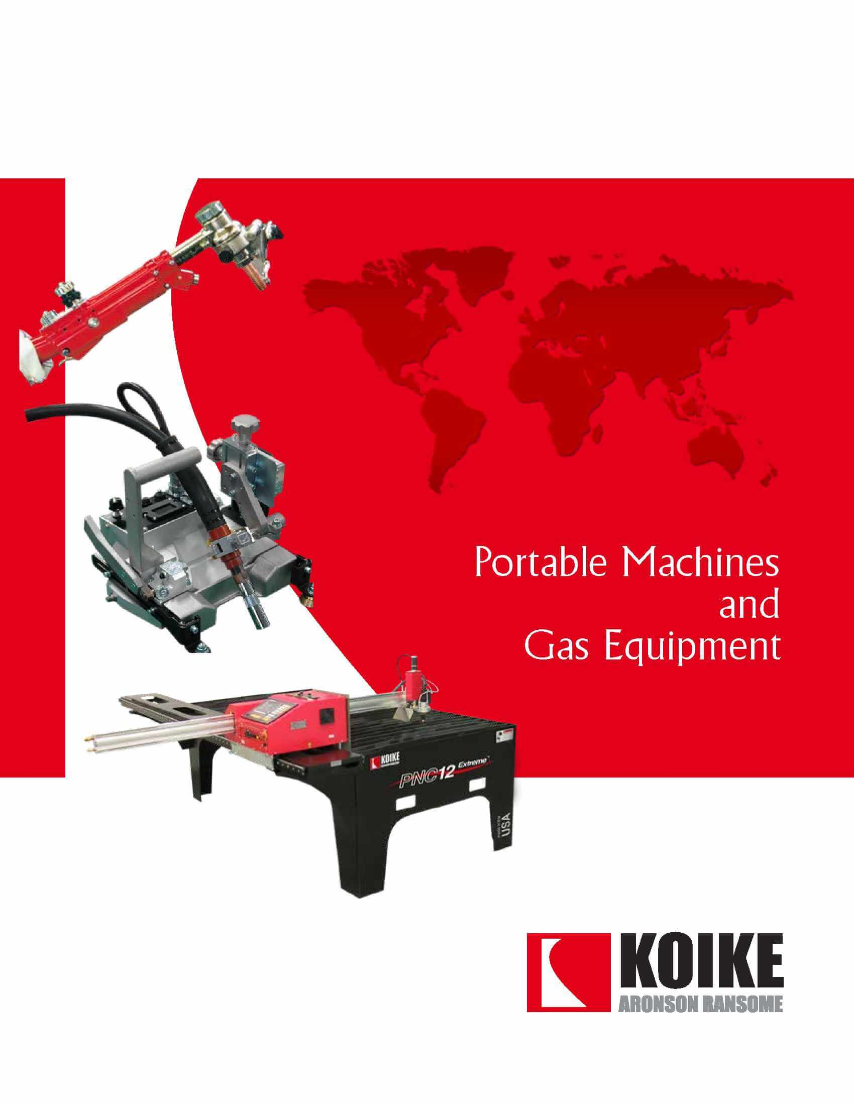 Download Portable & Gas Apparatus Catalog