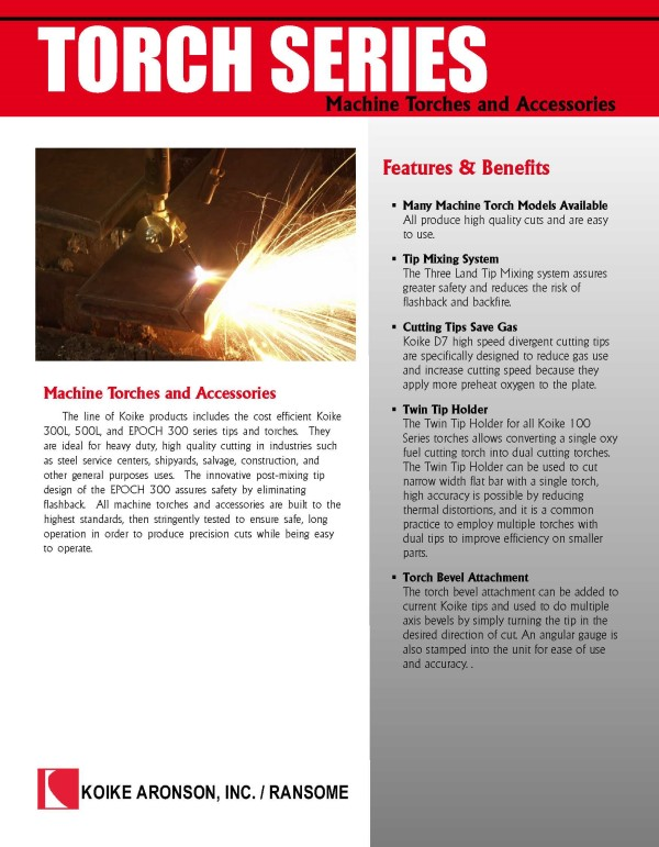 Download Torch Series Product Brochure