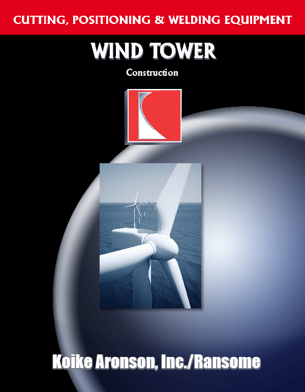 Wind Tower Construction Equipment