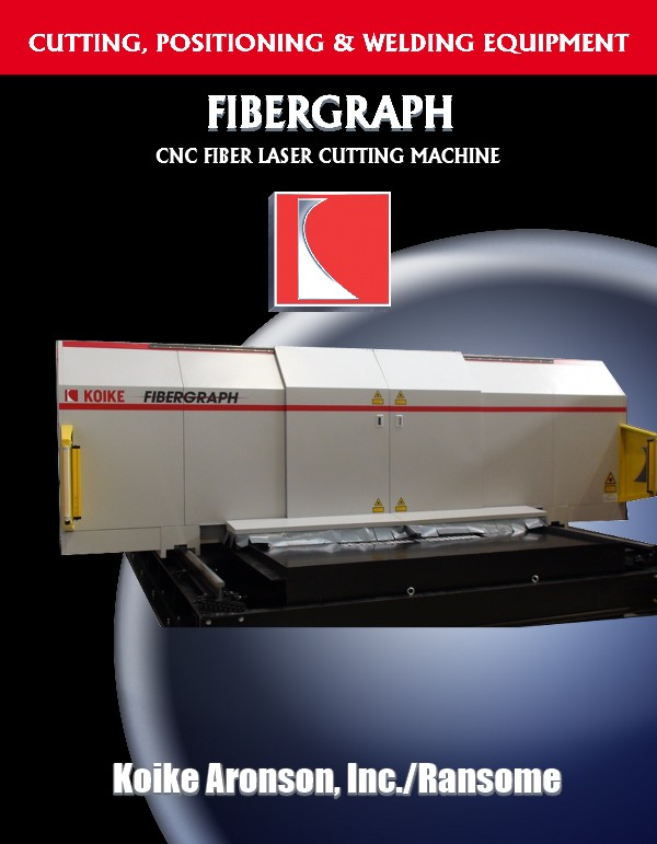Fibergraph Laser Cutting Machine literature