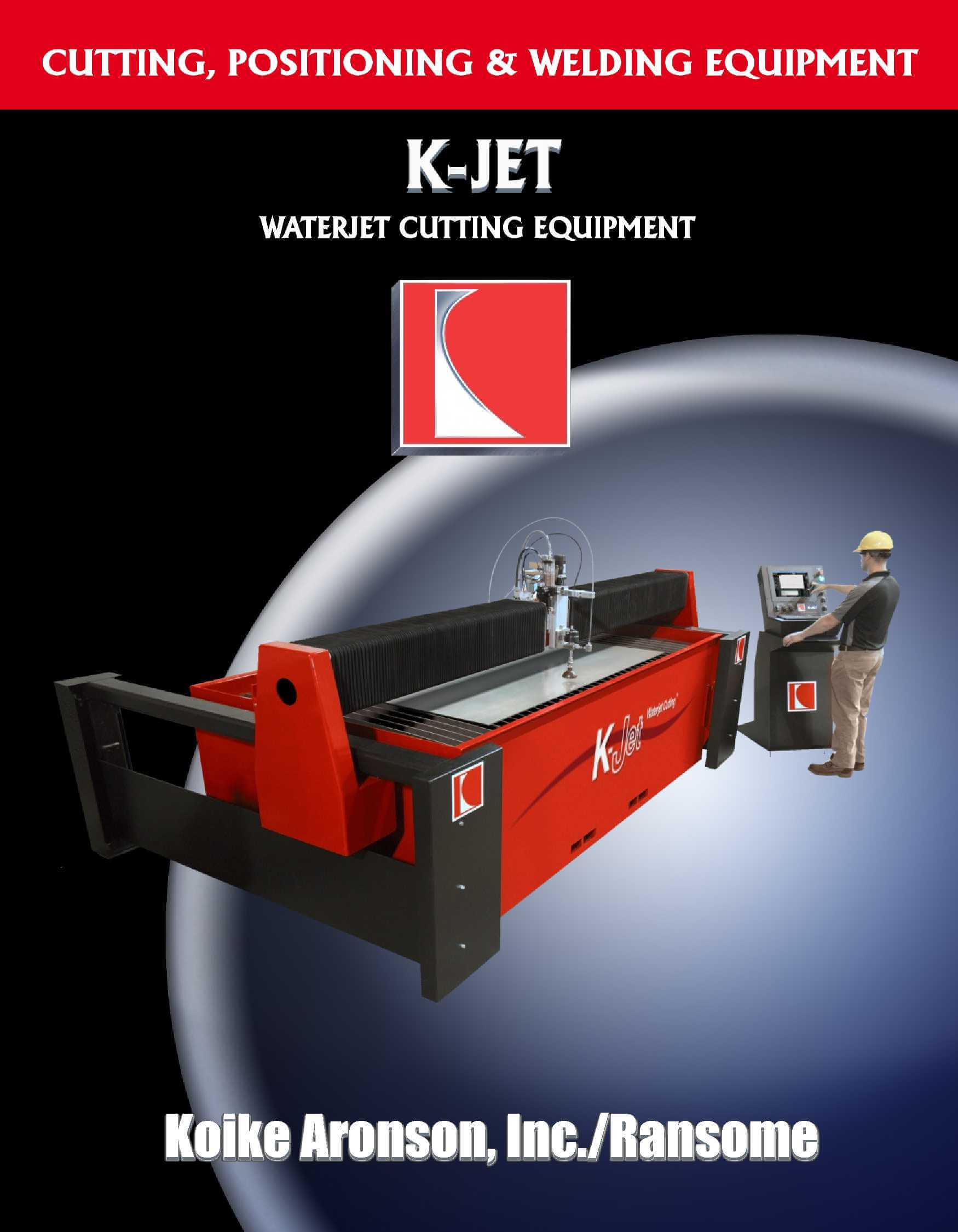 Waterjet Cutting Machine K-Jet