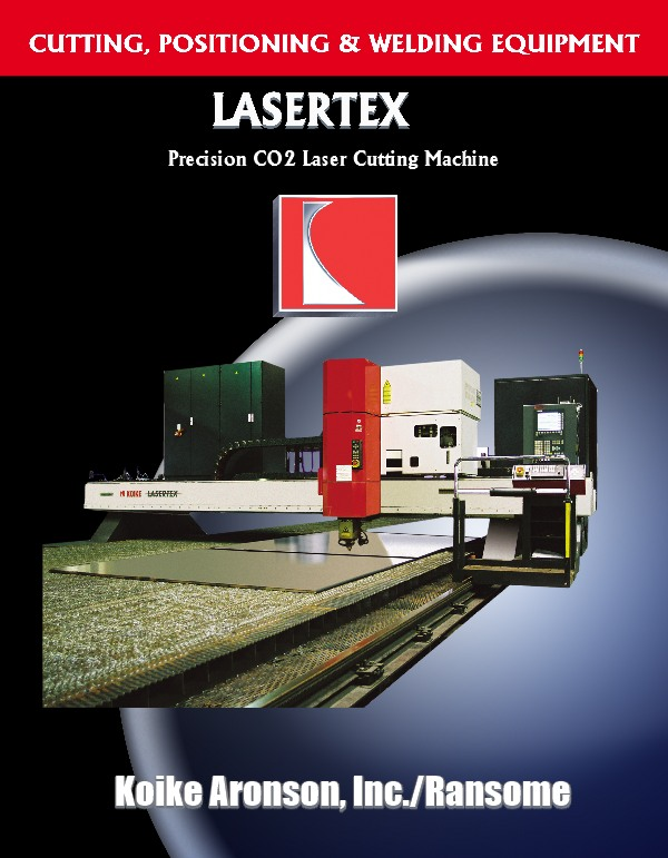 Lasertex CO2 Laser Cutting Machine Product Download