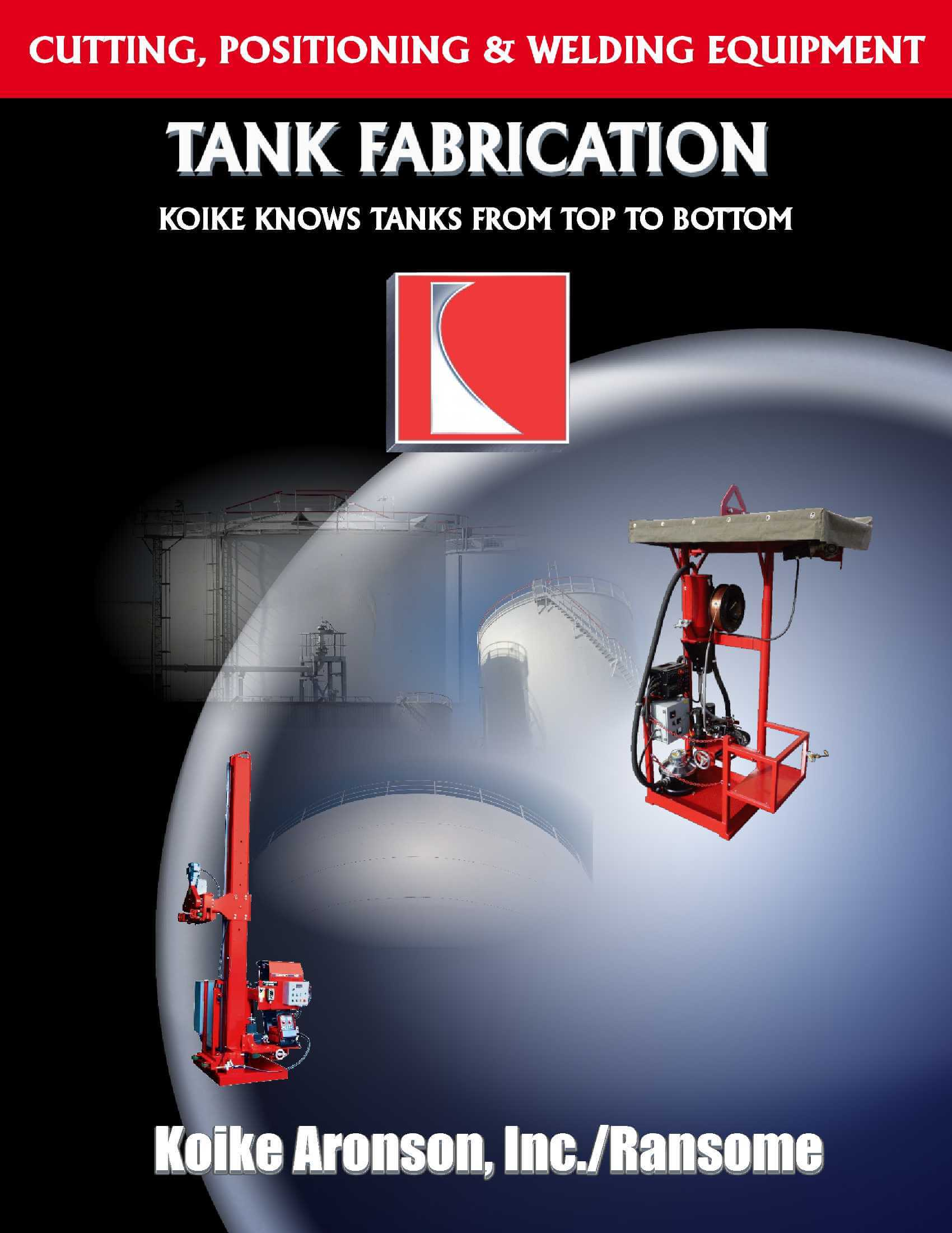 Tank Fabrication Product Brochure by Koike Aronson