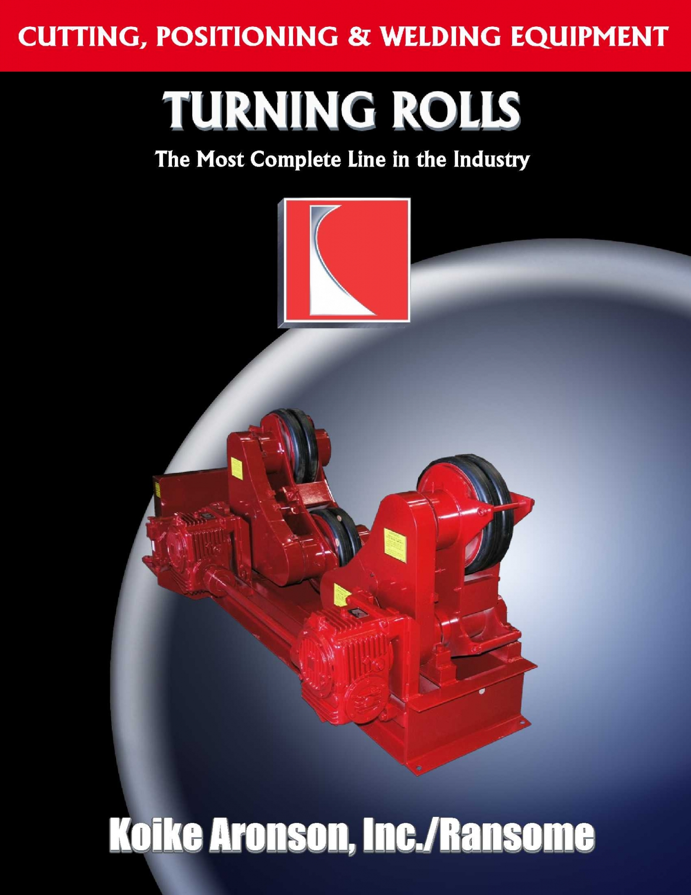 Turning Rolls Product Brochure by Koike Aronson