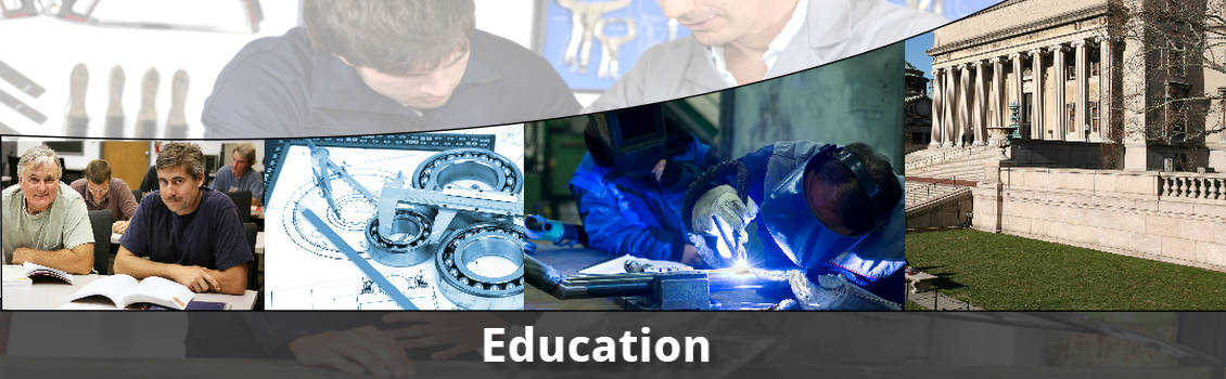 Teaching students at high schools, vacational schools, technical institutions and universities how to weld and manipulate metal is vital to the heavy equipment industry.