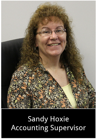 Sandy Hoxie - Accounting Supervisor